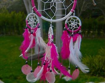 Electric pink Dreamcatcher