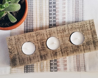 Teelichthalter; Tee-Licht-Kerze-Halter, Holz Kunst Palette, Palette Dekor, Palette Möbel, Tafelaufsatz, rustikale Herzstück