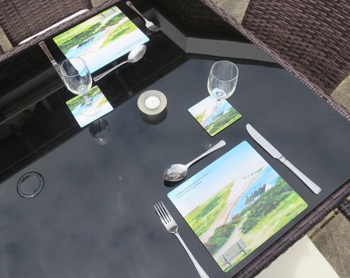 Featured listing image: SPECIAL OFFER - Al Fresco Place Mat & Coaster Set