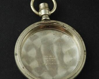 Beautiful Vintage Antique Steampunk Pocket Watch Body Case X 105