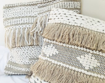 Bohemian Macrame Cushion Cover