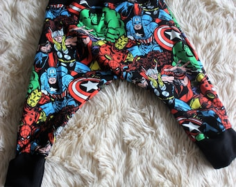 Marvel Harem Pants Sizes 00, 0 . 1 & 2