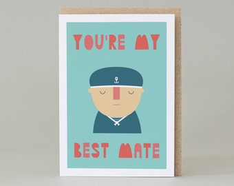 You're My Best Mate (Card)