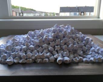 1000 Origami Stars - White
