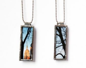 EMPIRE STATE PENDANT - New York Jewelry - Photo Pendant