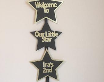 Star Doorsign, Twinkle Twinkle Little Star Doorsign