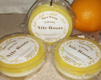 Nile Rootz Citrus Spa Soap