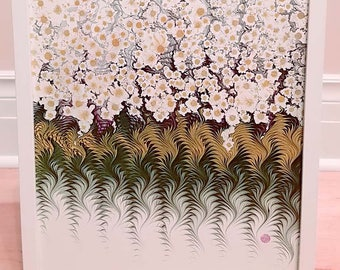 """Floral Art Reproduction Prints 12"""" x 16"""" from Marbled Graphics™ by Robert Wu"""