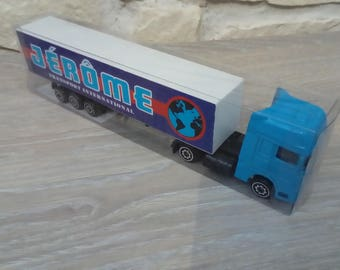Truck personalized name of Jerome toy or gift