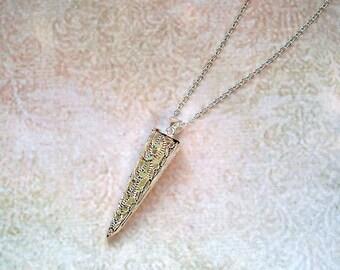 Brilliant chain cone 925 sterling silver