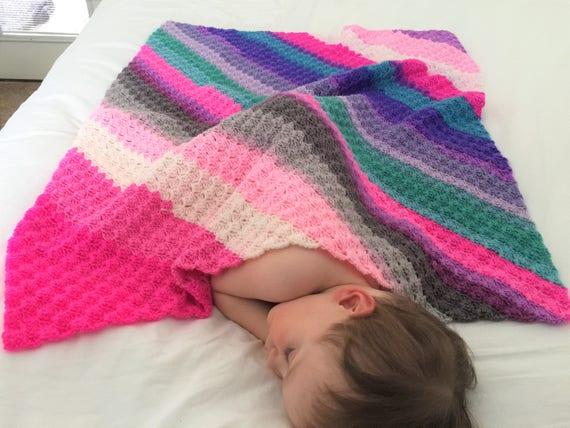 Three Mandala Thrill Baby Blanket Crochet Pattern and Beginner