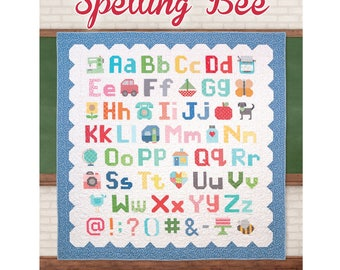 Spelling Bee Quilt Book by Lori Holt of Bee in my Bonnet