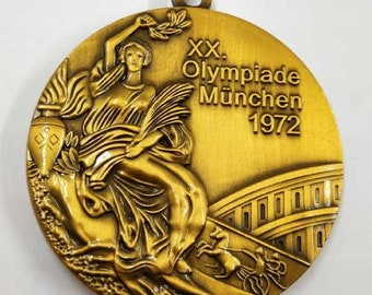 1972 Germany Munich Olympic 'Gold' Medal