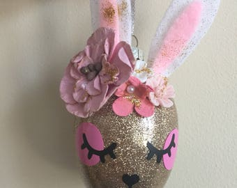 Easter Bunny & chicken baubles