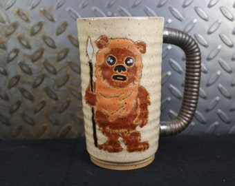 Star wars Ewok mug handmade #560