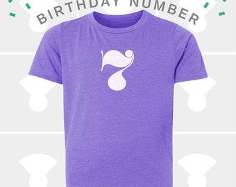 7th Birthday Shirt - Boys & Girls Unisex TShirt