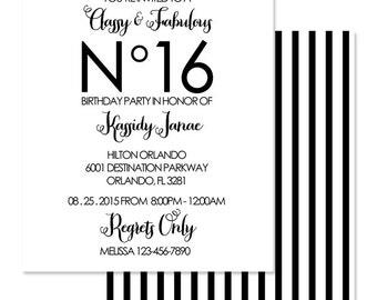 Classy invitations Etsy