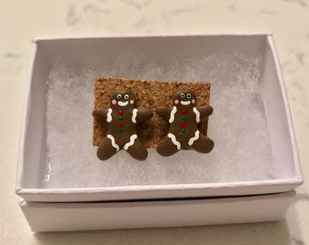 Gingerbreadmen Earrings
