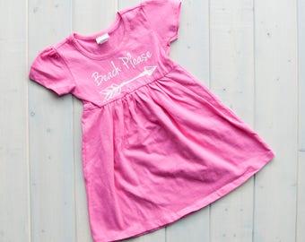 Beach Kids Dress, Kids Sundresses, Baby Fashion, Baby Girl Dress, Lake Baby Dress, Toddler Dress