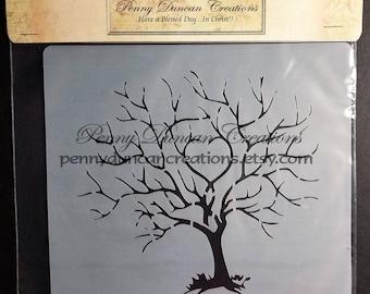 Tree Stencil