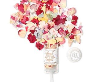 The Original Floral Eco-Friendly Push-Pop Confetti®