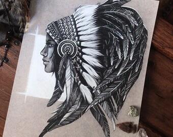 Native Girl ORIGINAL