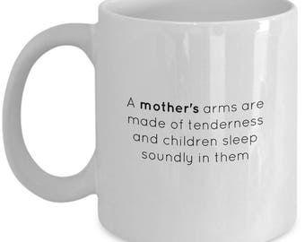 Coffee Mug for Mom | Gift for mothers | Mother's Quote Coffee Tea Cup | 11oz Ceramic Mug