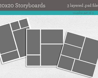 20x20 storyboards