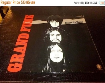 Vintage 1971 Vinyl LP Record Grand Funk Closer To Home Rare German Import Very Good Condition 3332