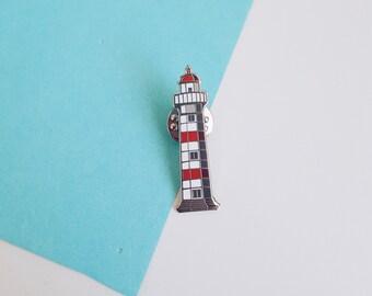 Lighthouse pin, Malmö fyr, enamel pin