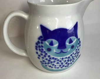 Arabia Finland Kaj Franck Cat Pitcher Jug