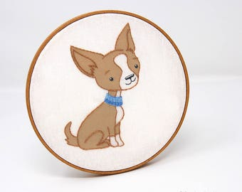 Embroidery Patterns, Dog Embroidery Patterns, Hand Embroidery, PETITE PUPS embroidery design collection