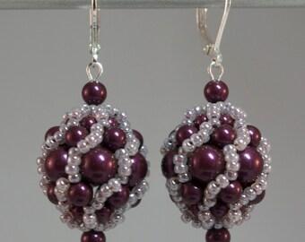 Roman Holiday Earrings Kit in Blackberry