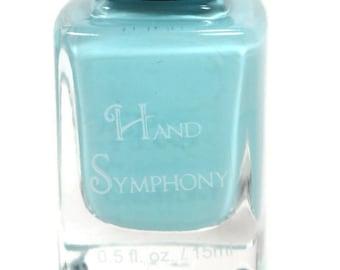 Baby Blues~Light Blue Nail Polish,Blue Nail Polish,5 Free Nail Polish,Polish,Baby Blue Nail Polish,Vegan Nail Polish,Turquoise Blue Polish