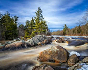 Nature Photography, Flambeau River, Forest, North Country, Nature Spirits, Northern Wisconsin, Landscape, Spring, Serene, Green Brown Blue