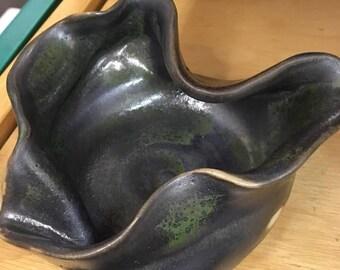 Hand Made Pottery Jewelry Dish