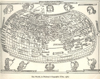Antique world map, Map, Old world map, Historical maps, 118