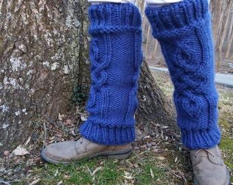 Custom Hand Knit Chunky Legwarmers