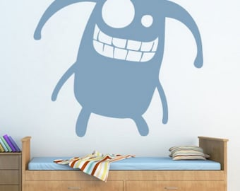 monster wall decals monster wall art monster wall decor monster wall stickers (Z650)