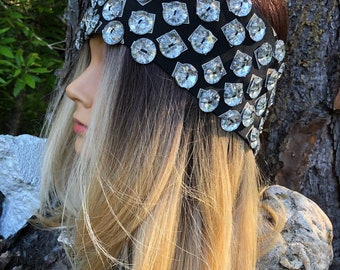 Glamazon Upcycled Headwrap/ Headband