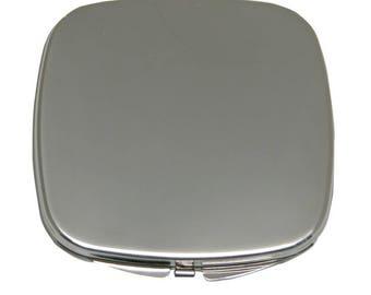 Purse Mirror Silver Plate Two Mirrors