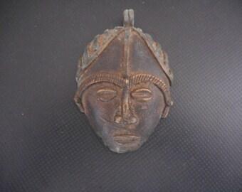 Baule large  bronze masket African