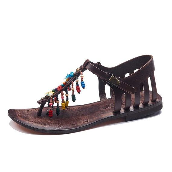 e64bfe29b4ae1 Comfortable Sandals Womens Summer Leather Sandals Sandals Leather ...