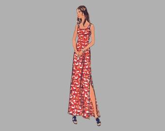Butterick 6673 Dress Tunic Top Jacket Pants and Shorts pattern Bust 36 UNCUT Designed for knit fabrics
