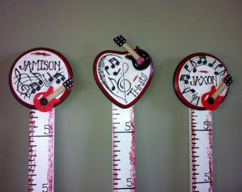 Music themed Growth Chart
