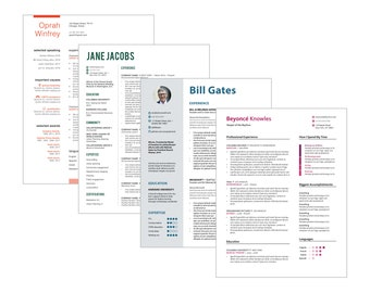 3-Pack of Revisions to Custom Resume Design