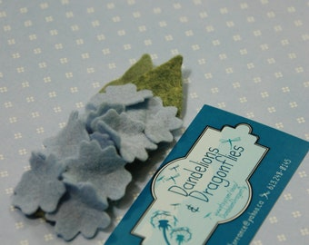 Birth Flower Hair Clip - July Delphinium