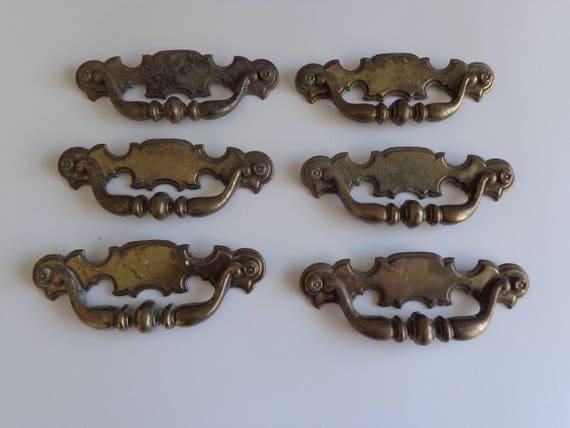 Keeler Brass Co Drawer Pulls  Keeler Drawer Pulls Vintage Drawer Pulls Rustic Drawer Pulls Fancy Drawer Pulls Keeler Keeler Pulls Etsy From
