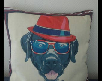 Funny dog pillow