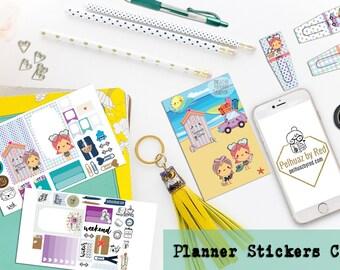 Big Planner Stickers Club, Planner Sticker Subscription, Monthly Subscription, Subscription Box, Sticker, Happy Planner, Sunny Days